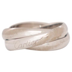 Cartier Trinity White Gold Ring