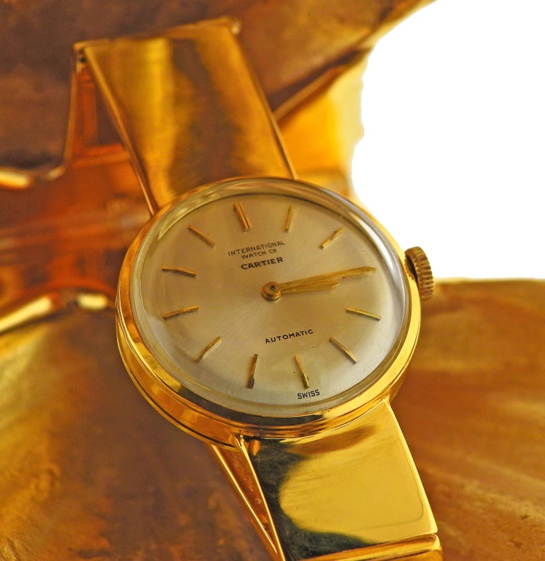 Cartier Turquoise Gold Shell Watch Travel Clock In Excellent Condition For Sale In New York, NY