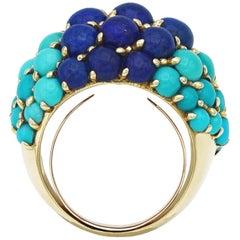 Cartier Turquoises Lapis Ring