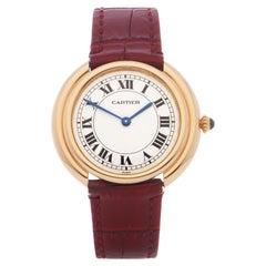 Cartier Vendome 0 78090 Unisex Yellow Gold 0 Watch