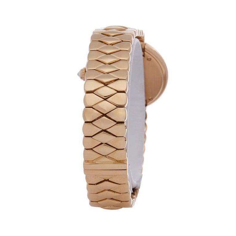 Cartier Vendome 18k Yellow Gold 1292 Wristwatch For Sale 1