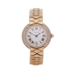 Cartier Vendome 18k Yellow Gold 1292 Wristwatch