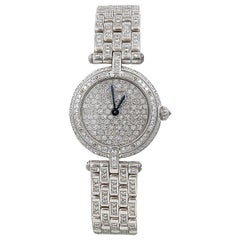 Cartier Vendome Diamond Watch