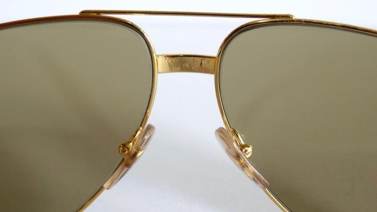 Women's or Men's Cartier Vendome Louis Aviators  For Sale