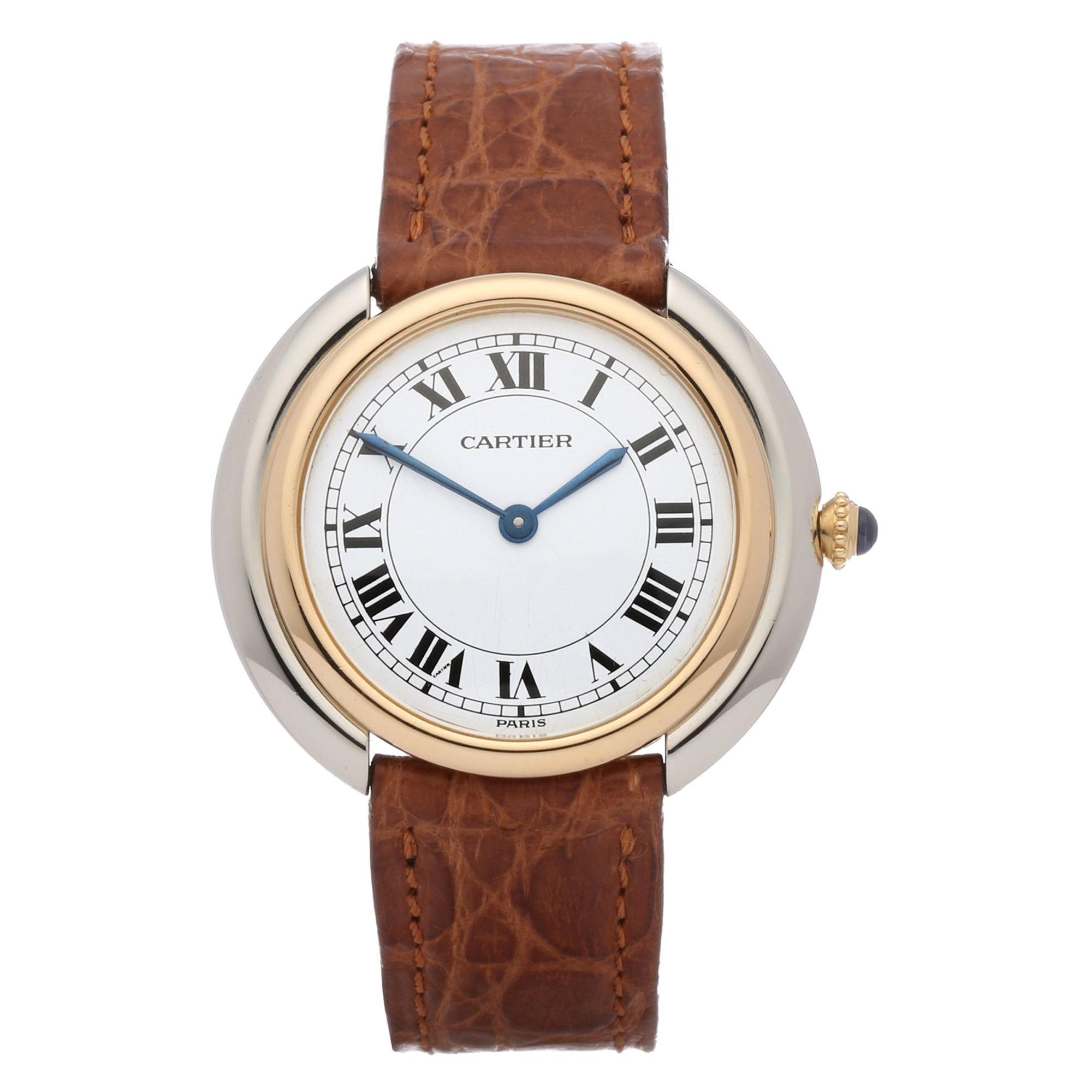 Cartier Vendome Paris 81721200 Ladies Yellow Gold Watch