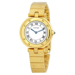 Cartier Vendome W3315; Certified and Warranty