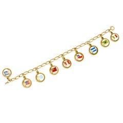 19th Century Charm Bracelets