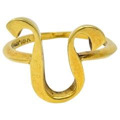 Cartier Vintage 18 Karat Gold Leo Zodiac Ring