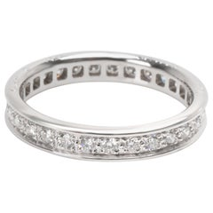 Cartier Vintage Ballerine Diamond Band in 18 Karat White Gold '0.52 Carat'