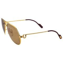 Cartier Vintage Large Vendome Sunglasses