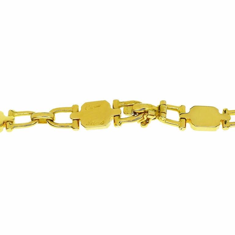 A magnificent Cartier Paris chain link necklace measuring 32.25