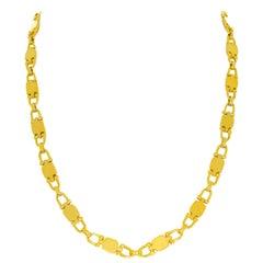 Cartier Vintage Paris Yellow Gold Necklace