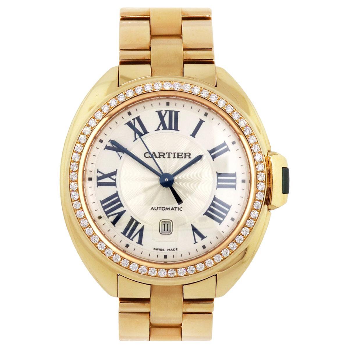 Cartier WFCL0003 Cle Wristwatch