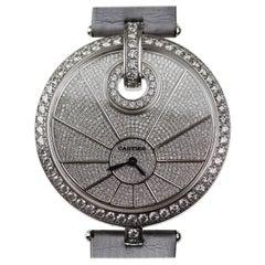 Cartier White Gold Diamond Captive de Cartier Quartz Wristwatch