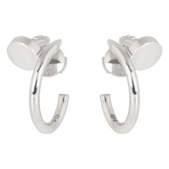 Cartier White Gold Juste un Clou Earrings