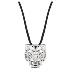 Cartier White Gold Panthere Necklace N7424211
