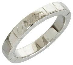 Cartier White Gold Tank Lanieres Ring