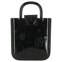 Cartier Women  Handbags Black Leather