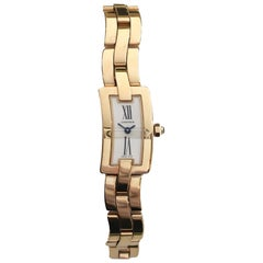 Cartier Women's Ballerine 18 Karat Rose Gold Watch