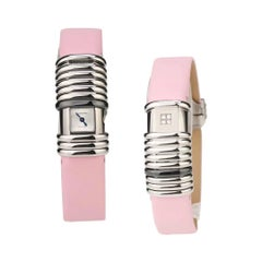 Cartier WT000730 Declaration Steel Diamond Ladies Quartz Watch 2611 69750CE