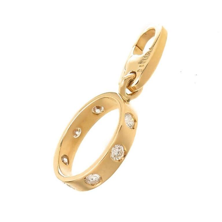 Yellow Gold Cartier Gem Love Ring