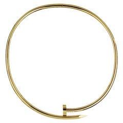 Cartier Yellow Gold Juste Un Clou 18 Karat Yellow Gold Necklace