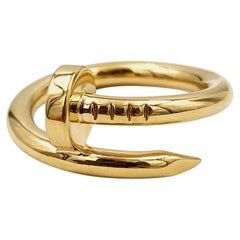 Cartier Yellow Gold Juste un Clou Ring