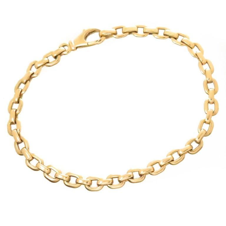 Cartier Yellow Gold Link Bracelet