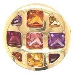 Cartier Yellow Gold Pasha Gemstone Ring
