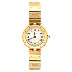 Cartier Yellow Gold Ronde Santos Watch