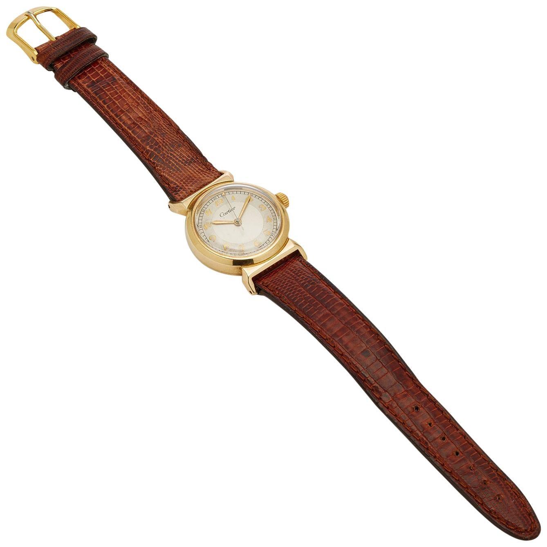 Cartier Yellow Gold Unisex Watch