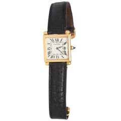 Cartier Yellow Gold Watch