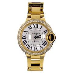 Cartier Yellow Gold Watch