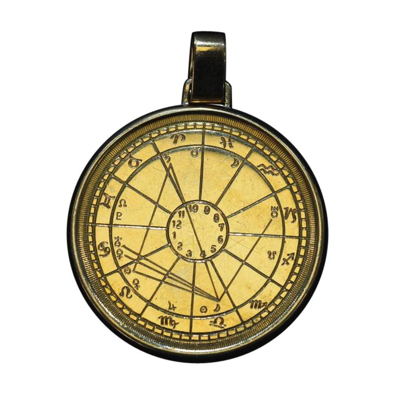 Cartier Zodiac Medallion, 1973, 18 Karat Gold For Sale