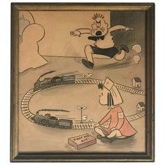 """Cartoon by Marjorie Henderson Buelle """"Marge"""""""