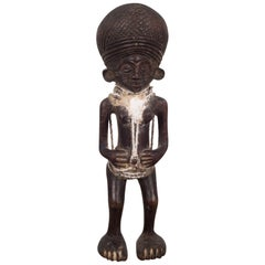 Carved African Chokwe Tribe Angolan Figure