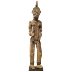 Carved African Igbo Standing Figure