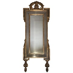 Carved and Gilt Regency Mirror