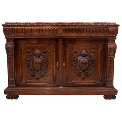 Carved Cabinet Commode, France, circa 1910
