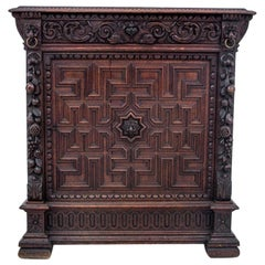 Carved Cabinet, France, circa 1880