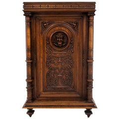 Carved Cabinet, France, circa 1890