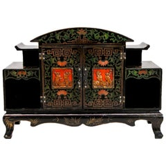 Carved Chinese Cabinet