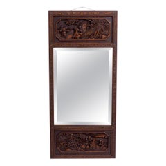 Carved Chinese Mirror