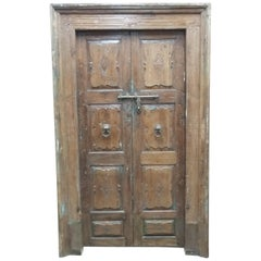 Carved Door Set