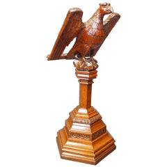 Carved Eagle Lectern