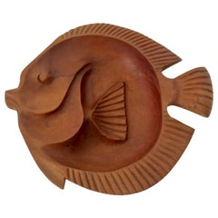 Carved Fish Bowl