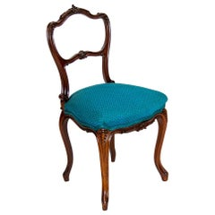 Carved French Ladies Desk Chair