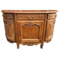 Carved French Oak Buffet