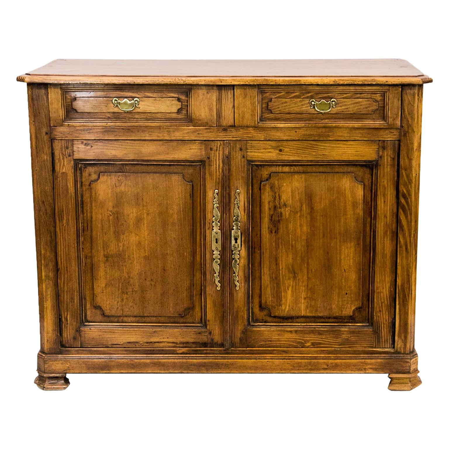 Carved French Pine Buffet