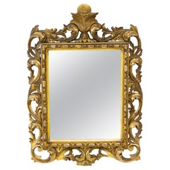 Carved Gilt French Mirror